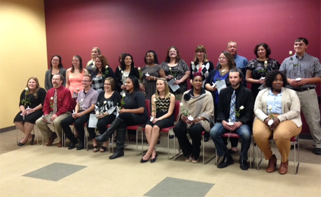 Fall 2015 PTK Inductees