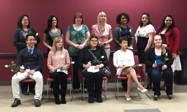 Spring 2015 PTK Inductees