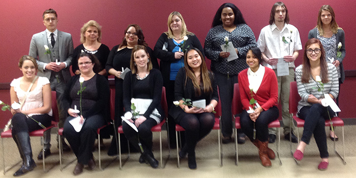 Fall 2014 PTK Inductees
