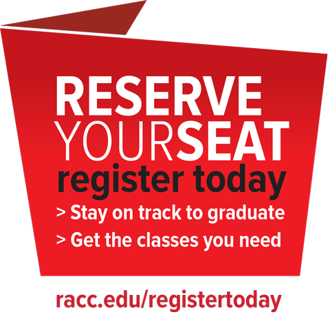 Register Today for Winter, Spring and Summer Classes at RACC