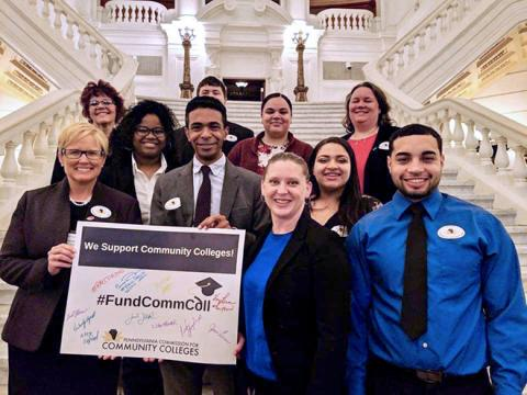 RACC Students at the Capitol