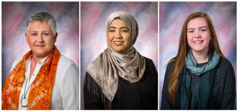 Three RACC Students Honored for Academic Excellence