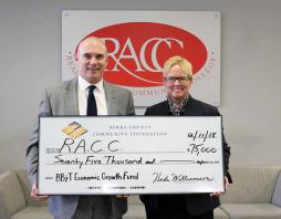 RACC Receives Grant from BB&T
